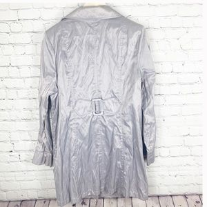 Lane Bryant Jackets & Coats - Lane Bryant Metallic Trench Jacket